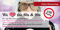 Ü30 Party - We love the 80s & 90s @A-Danceclub