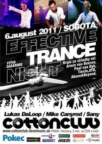 Effective Trance Night