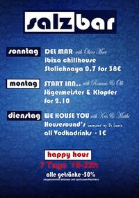 Start Inn Monday@Salzbar