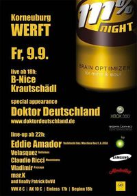 111% Night@Die Werft