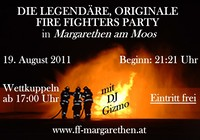 Fire Fighters Party@Margarethen am Moos
