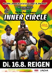 Live in Concert... INNER CIRCLE the legendary Bad Boys of Reggae @Reigen