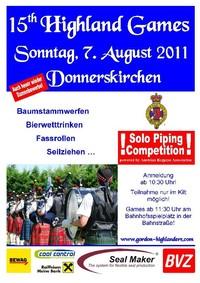 15th Highland Games@Bahnhofsspielplatz