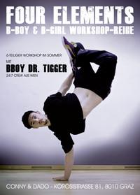 Breakdance Workshop Reihe von 27.7 bis 28.9.2011@Tanzschule Conny und Dado