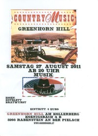 Country Music mit Don Attila Band@Greenhorn Hill