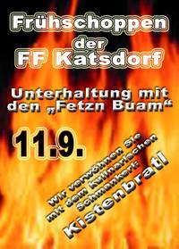 Frühschoppen der FF katsdorf
