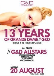 13 years of Grande Dame