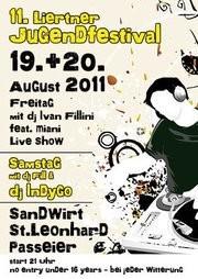 11. Liertner jugendfestival@Sandwirt - St. Leonhard in Passeier
