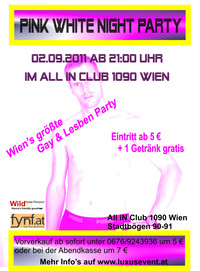 Pink White Night Party@All iN