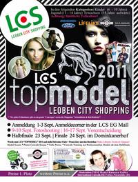 LCS Topmodel 2011@LCS Leoben City Shopping