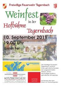 Weinfest - FF Tegernbach