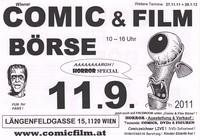 Comic & Film Börse - 11.9.2011 - Horror Special@Berufsschule Längenfeldgasse