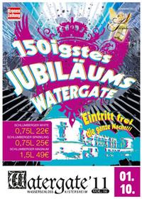 Das 150igste Jubiläums-Watergate!