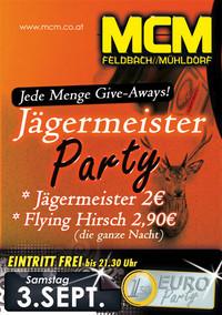Jägermeister-Party!