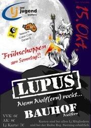 Lupus - Wenn Wolf(ern) rockt !