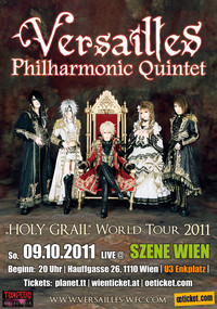 Versailles World Tour 2011 -Holy Grail- Europe@((szene)) Wien