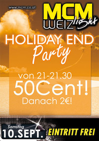 Holyday end Party