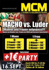 Macho .vs. Luder