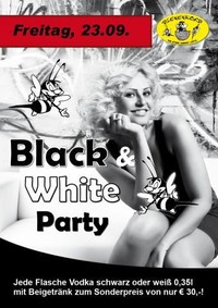 Black and White party@Bienenkorb Ried