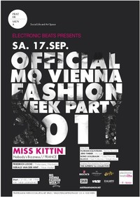 Official MQ Vienna Fashion Week Party 2011 presented by electronic beats