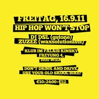 Hip Hop Won't Stop pres. DJ DSL