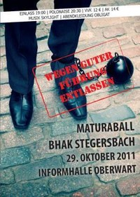 Wegen Guter Führung Entlassen@BHak Stegersbach