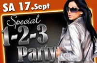 1 - 2 - 3  PARTY!@Tollhaus Wolfsberg