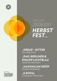 Auslage Herbstfest@Club Auslage