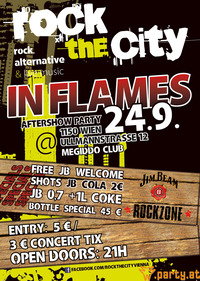 """ROCKTHECITY - """"In Flames Aftershowparty!"""""""
