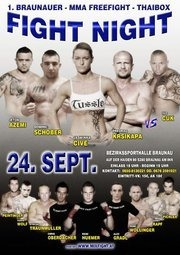 1. Braunauer Fight Night MMA Freefight - Thaiboxing