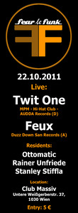 FEAR le FUNK presents TWIT ONE & FEUX - Live!