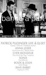 BANDE À PART avec PATRICK PULSINGER@Café Leopold