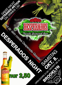 Desperados Night@Brooklyn