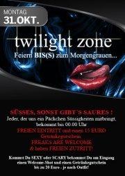 twilight zone - Feiern BIS(S) zum Morgengrauen
