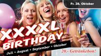 XXXXL Birthday