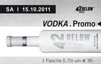 Vodka Promo - 42 Below