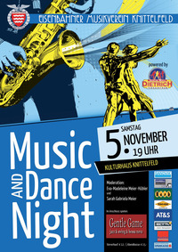 Music & Dance Night@Kultur- & Kongresshaus Knittelfeld