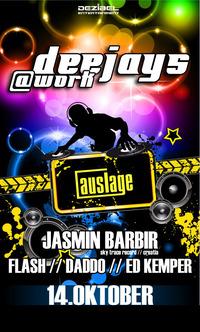 Deejays @ Work@Club Auslage