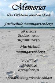 Abschlussball Fachschule Baumgartenberg