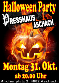 Halloween Party im Presshaus