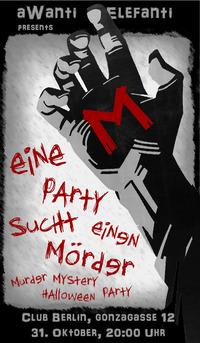 aWanti Murder Mystery Halloween Party@Club Berlin