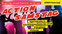 Action Samstag - Lasershow mit Dj Max Ventura