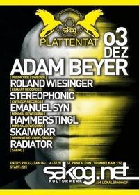 Plattentat - Adam Beyer