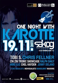 "Eristoff Tracks presents: ""one night with KAROTTE""@Sakog"