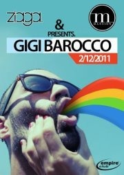 Gigi Barocco Live hosted by The Mansion & Ziaga