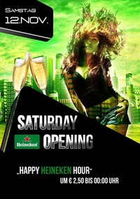 Opening Day Number 2 with Heineken Happy Hour