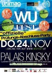 WU Fest - Prüfungs-Abschluss-Party