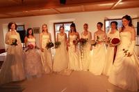 Wahl der schönsten Braut - Hochzeitstraum-Messe Schloss Mattsee