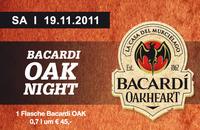 Bacardi OAK Night