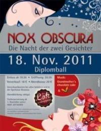 Nox Obscura - Die Nacht der 2 Gesichter - Diplomball